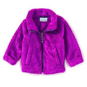 Columbia Baby Girls Fluffy Fleece Full Zip Jacket